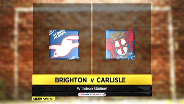 Brighton 4-3 Carlisle