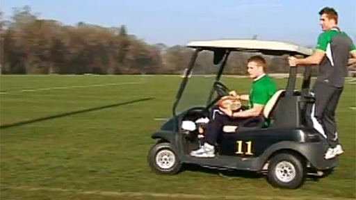 Ireland take the buggy approach