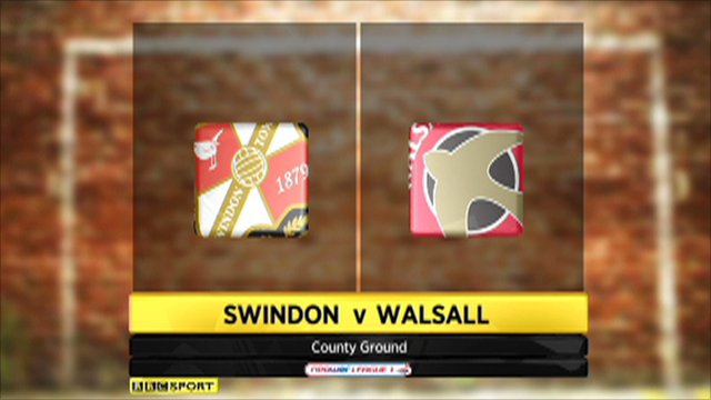 Swindon 0-0 Walsall