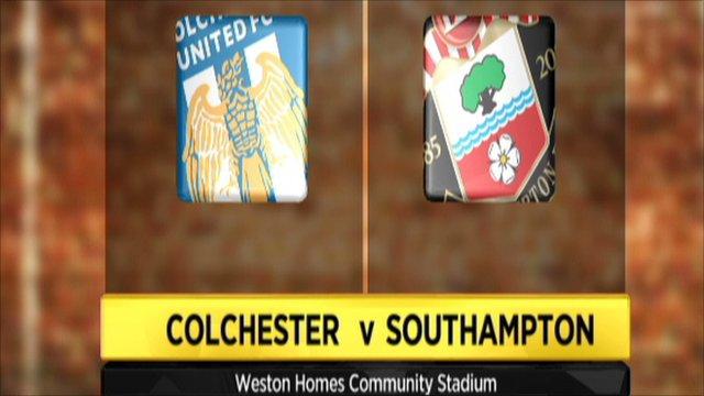 Colchester 0-2 Southampton