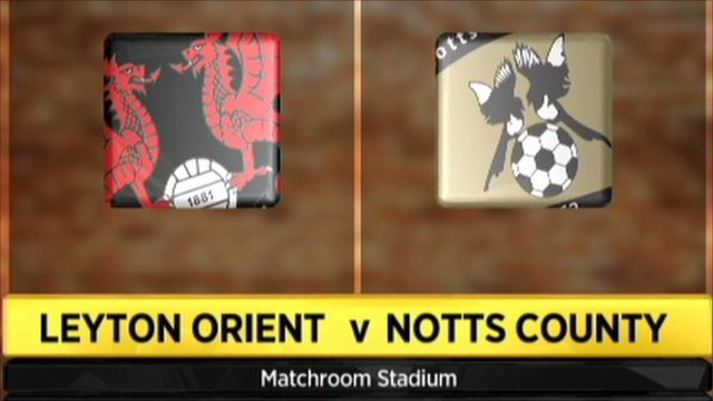 Leyton Orient 2-0 Notts County