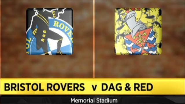Bristol Rovers 0-2 Dag & Red