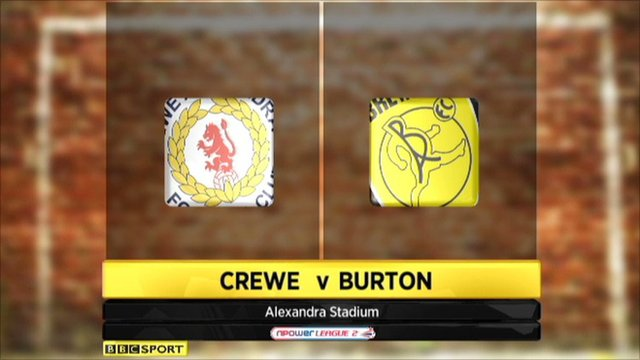Highlights - Crewe 4-1 Burton Albion