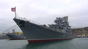 A ship at Sevastopol