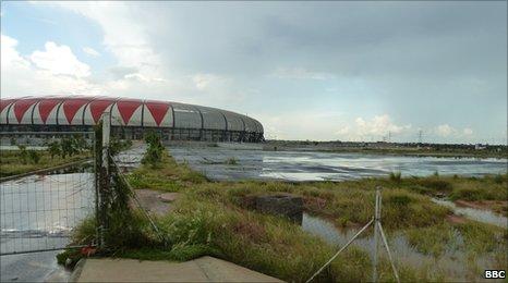 Luanda Stadium in February 2011