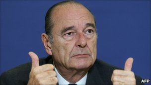 Jacques Chirac in Brussels (24 March 2006)