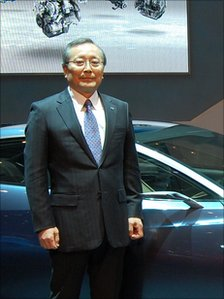 Mazda Motor's chief executive Takashi Yamanouchi