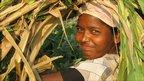 Woman farmer in India