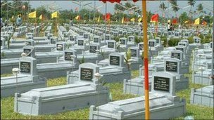 Image of the Tiger graveyard from the pro-rebel website Tamilnet