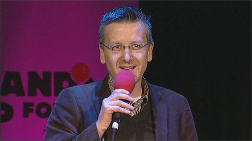 BBC Wiltshire presenter Graham Mack's Comic Relief stand-up audition