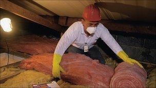 Engineer insulating loft
