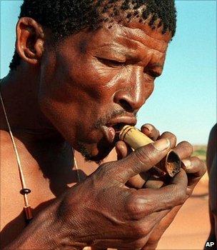 Bushmen of the Kalahari (Image: AP)