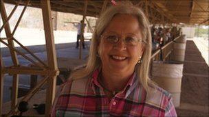 Carol Ruh, president of Arizona Women's Shooting Association