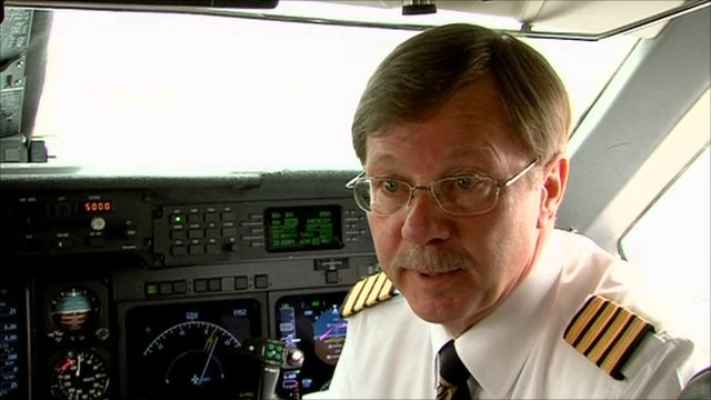 Herbert McCormick from Asia Jet tells the BBC what it's like to fly a business jet.