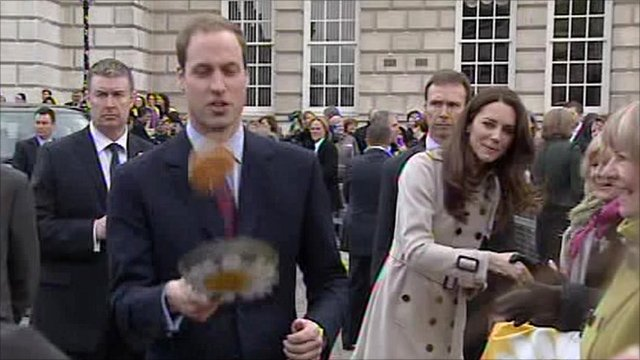 William and Kate in Belfast