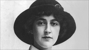 Dame Agatha Christie, pictured in 1926