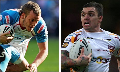 Dale Ferguson and Danny Brough