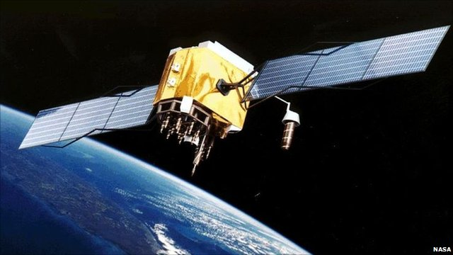 GPS satellite artist&#039;s impression