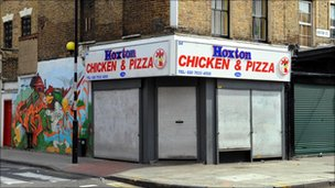 Hoxton Chicken and Pizza takeaway
