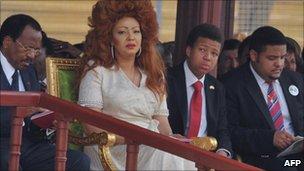 Paul Biya and family