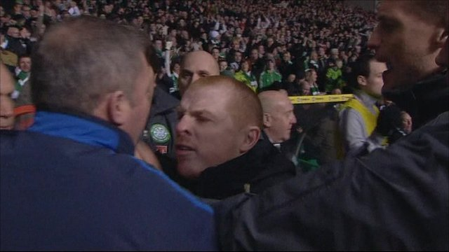 Conflict at last week's Old Firm match
