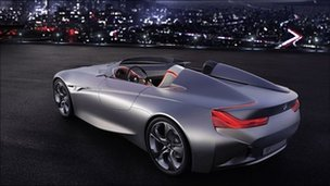 BMW Connected Drive Vision concept vehicle