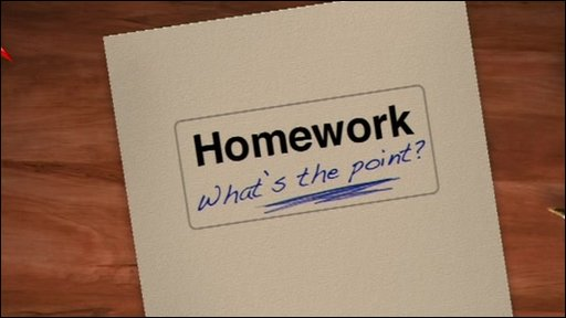 Ricky investigates homework
