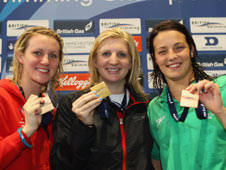 Rebecca Adlington with 200m freestyle gold