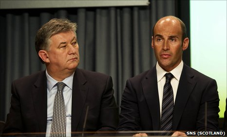 Peter Lawwell and Martin Bain