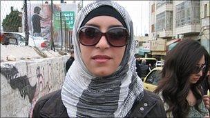 Lina in Ramallah