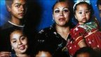 Guadalupe from Mexico lives in Los Angeles with her six children