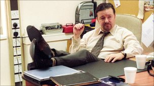 Ricky Gervais in the Office