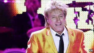 Rod Stewart by Yui Mok/PA
