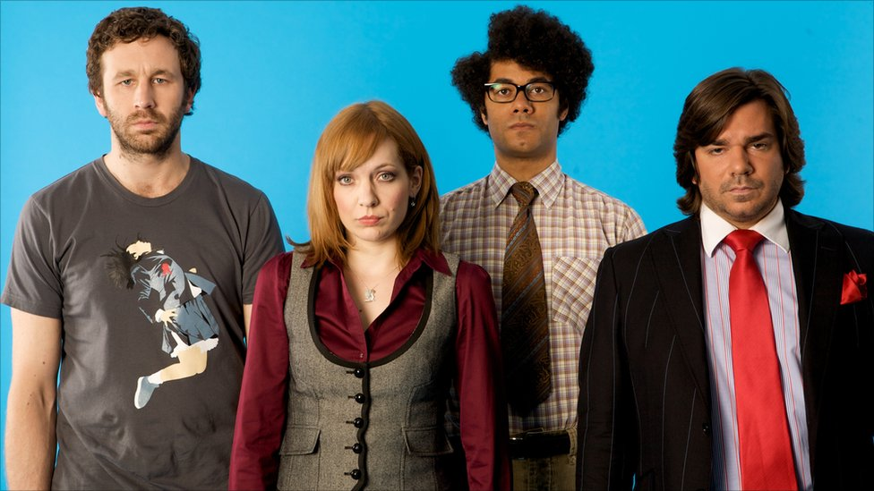 Cast of the IT Crowd  The Switch Cast