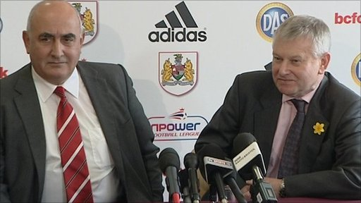 Colin Sexstone and Stephen Lansdown
