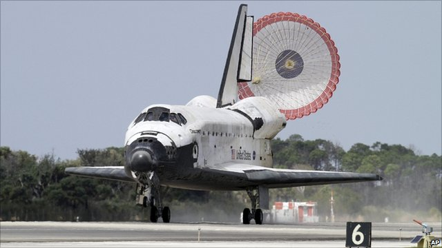 Shuttle landing