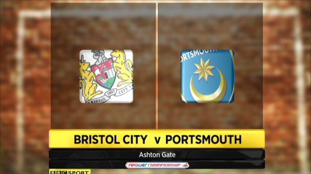 Highlights - Bristol City 2-1 Portsmouth