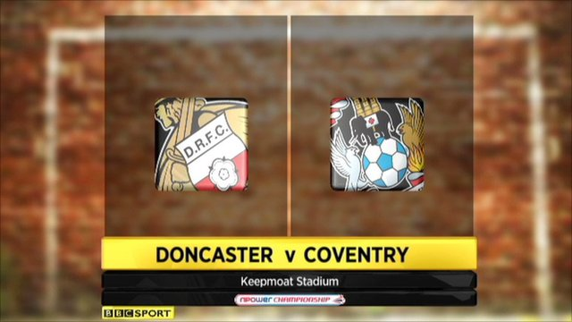 Highlights - Doncaster 1-1 Coventry