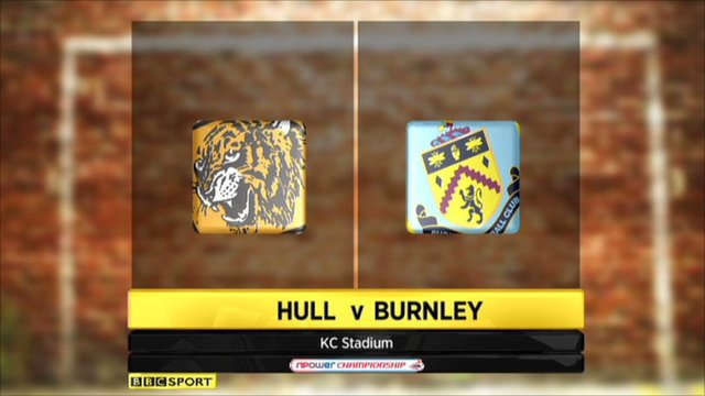 Highlights - Hull 0-1 Burnley