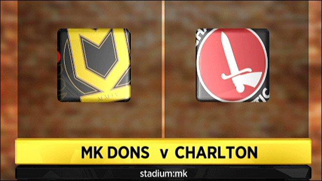 MK Dons v Charlton