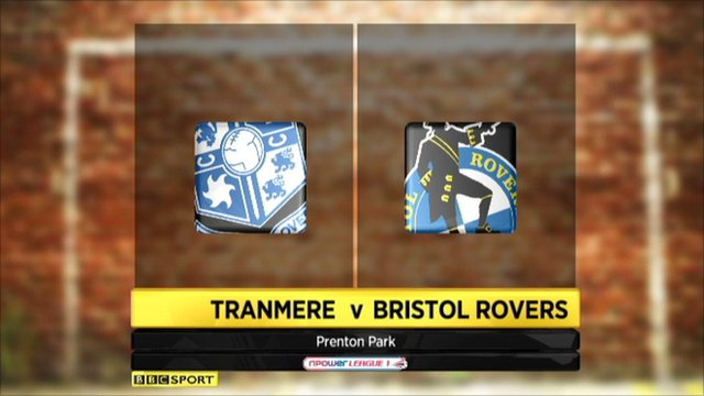 Highlights - Tranmere 0-1 Bristol Rovers