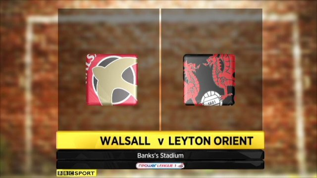 Highlights - Walsall 0-2 Leyton Orient
