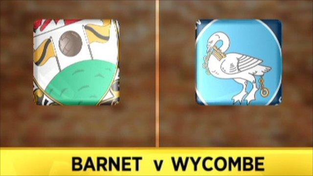 Highlights - Barnet 0-1 Wycombe