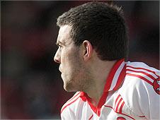 Coalan O'Boyle of Derry's Under-21 team