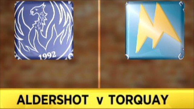 Highlights - Aldershot 1-0 Torquay