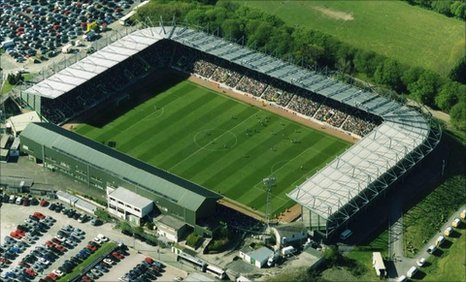 Plymouth Argyles Home Park Stadium