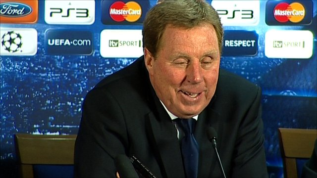 Spurs boss Harry Redknapp