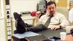 Picture shows - Ricky Gervais who plays David Brent in series two of the sitcom The Office.