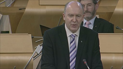 SNP MSP Willie Coffey leads a member's debate.