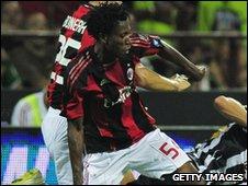 AC Milan midfielder Nnamdi Oduamadi